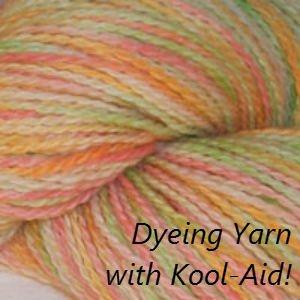 How to Dye with Kool Aid, Fiberartsy.com