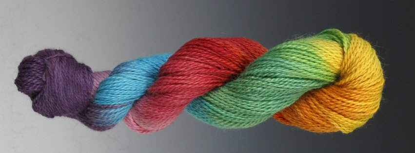 Learn how to Hand Paint Yarn with this wool yarn dyeing tutorial