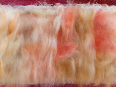 Adding layers of wool