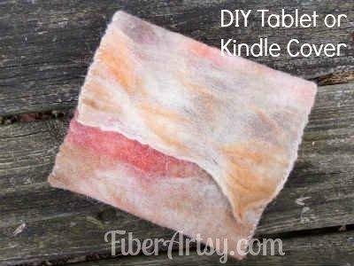 Easy DIY Table or Kindle Cover, Fiberartsy.com