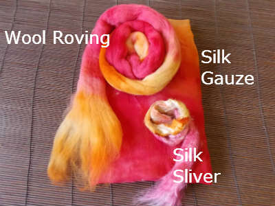 Nuno Felting Supplies