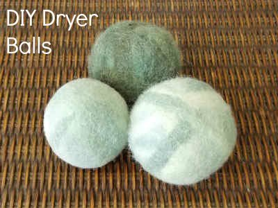 Felted Dryer Balls Tutorial - Fiberartsy.com