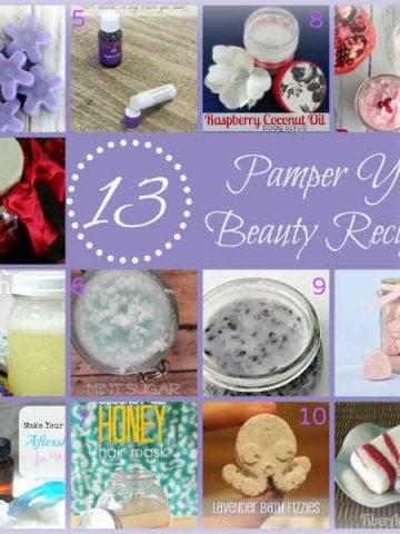 Homemade Beauty Recipes, Fiberartsy.com