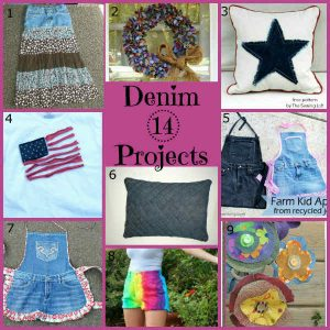 Denim Craft Project Ideas, Fiberartsy.com