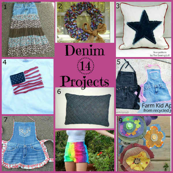 Denim Craft Project Ideas, Fiberartsy.com