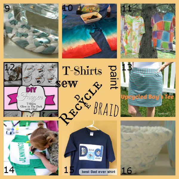 16 T-Shirt Craft Projects, Fiberartsy.com