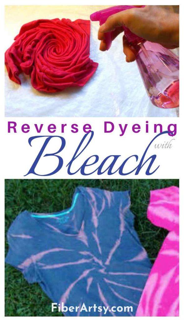 Reverse Bleach Dyeing