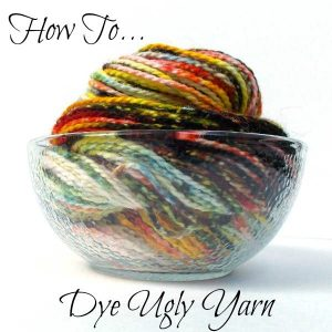 How NOT to Dye Yarn