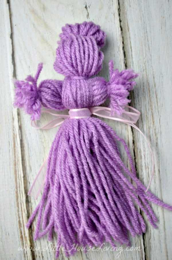 DIY Yarn Doll