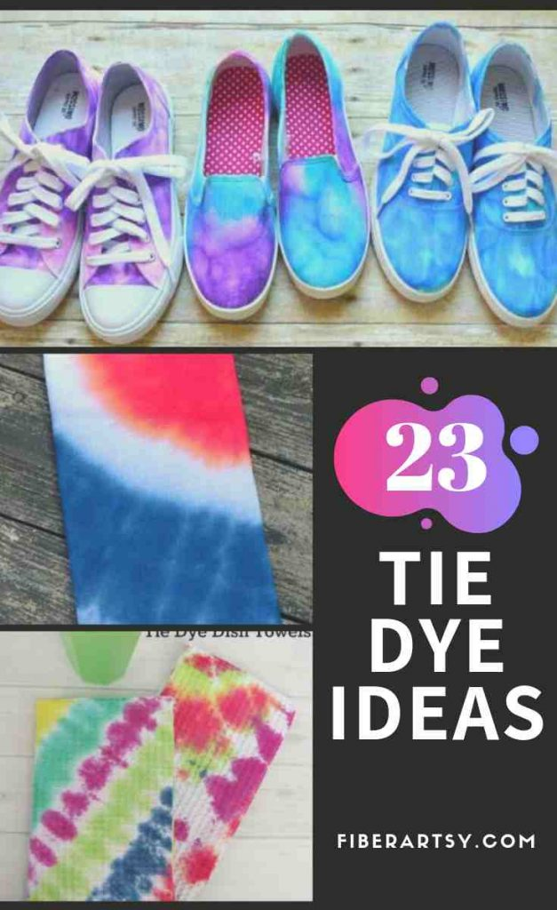 Tie Dye and Fabric Dyeing Ideas and Craft Projects