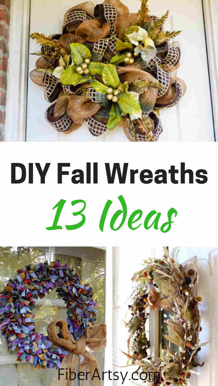 13 DIY Fall Wreath. 13 Ideas to Make a Beautiful Door Wreath for Your Home