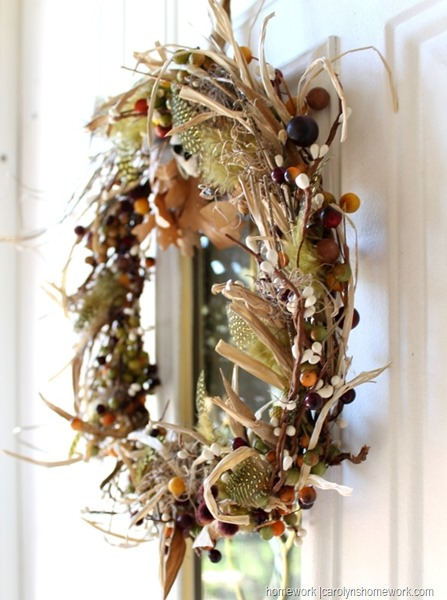 Homemade Wreath Idea