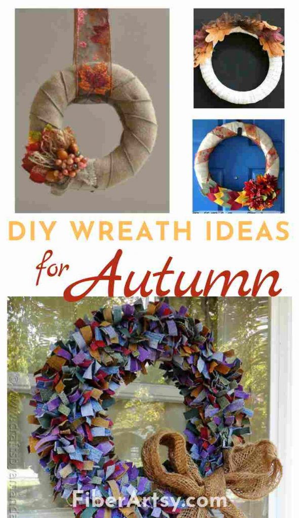 DIY Wreath Ideas for Fall and Autumn