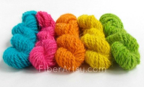 How To Dye Yarn with Easter Egg Colors, FiberArtsy.com