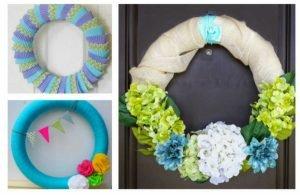 15 DIY Summer Wreath Ideas