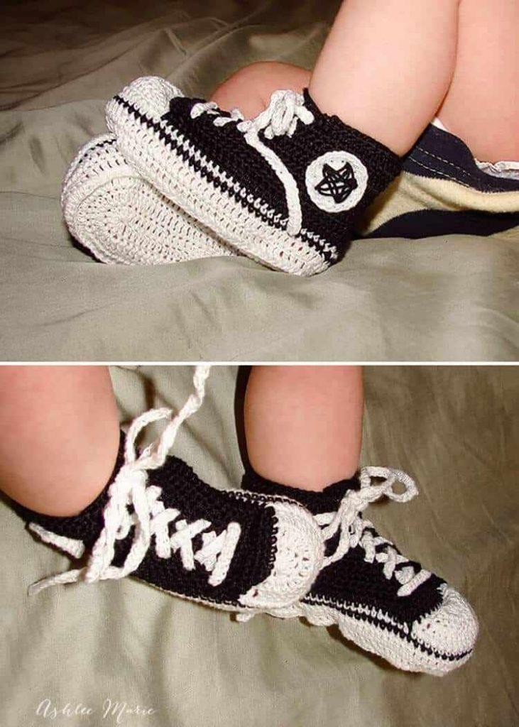 Crochet Chucks for Babies