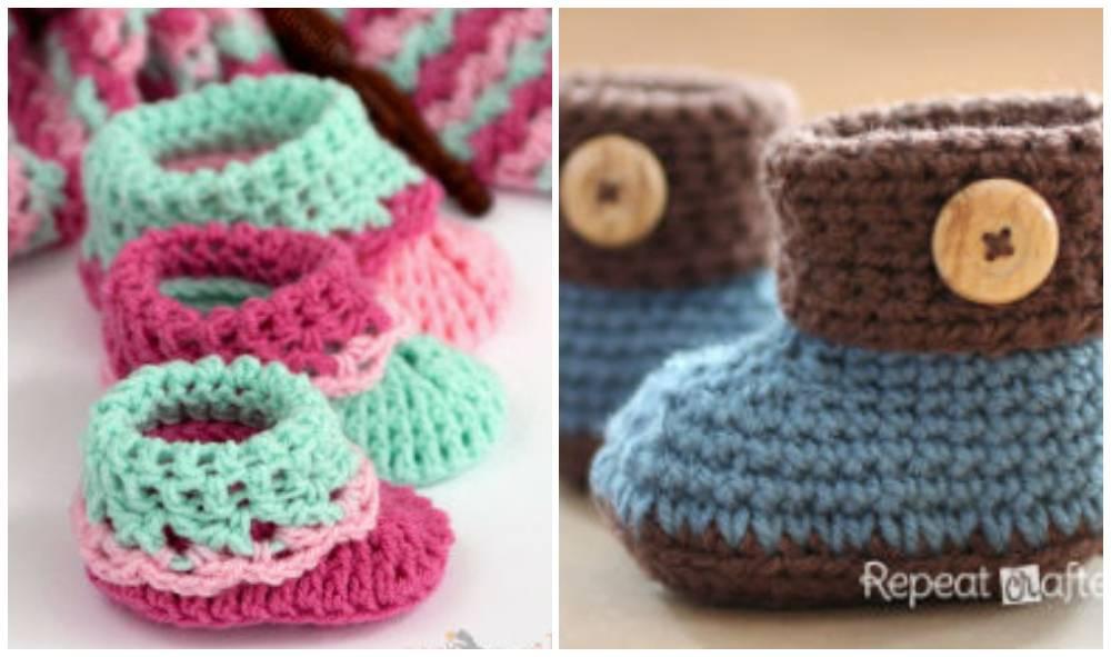 Baby Bootie Crochet Patterns