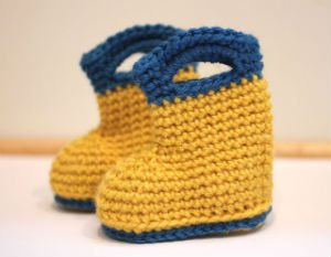 Free Crochet Patterns Rain Boots