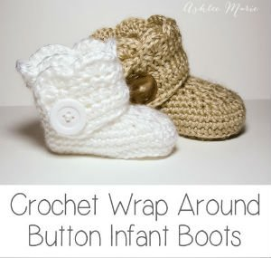 Baby Booties Free Crochet Pattern