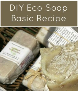 DYI Eco Soap Recipe, FiberArtsy.com