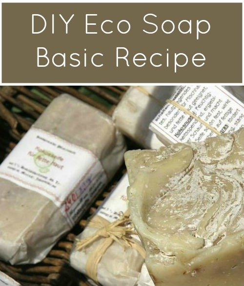 DYI Eco Soap Recipe, FiberArtsy.com