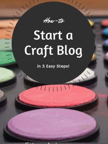 How to Start Your Own Craft or DIY Blog, FiberArtsy.com