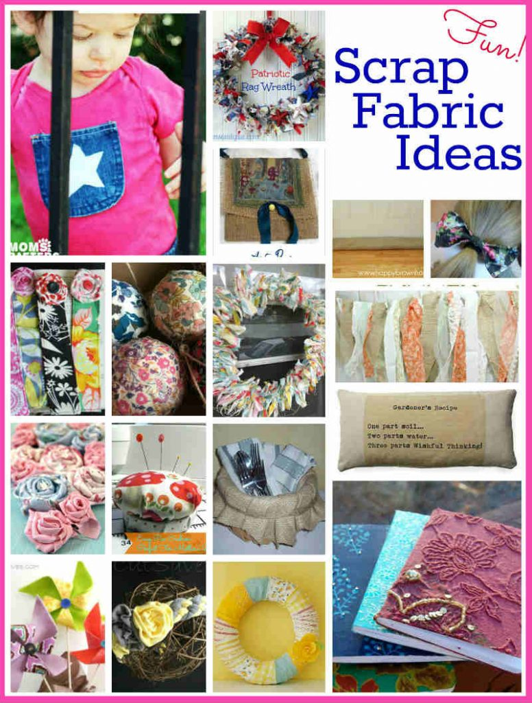 Scrap Fabric Project Ideas, FiberArtsy.com