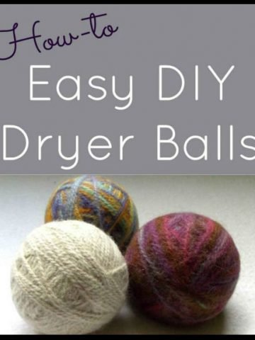 Easy DIY Felted Dryer Balls, a FiberArtsy.com tutorial