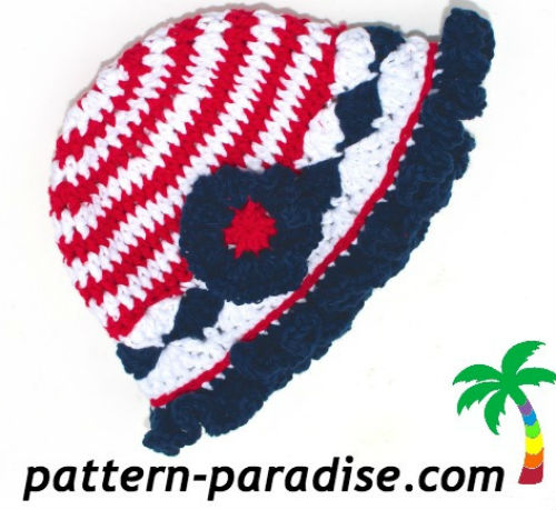 Crochet Hat Pattern by Pattern Paradise