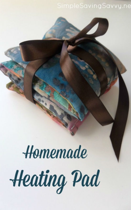 How to make a Homemade Heating Pad Gift Idea