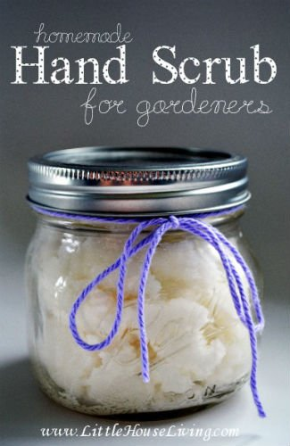 Homemade hand scrub for gardeners recipe