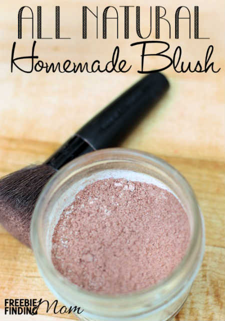 DIY Mineral Makeup Homemade Blush