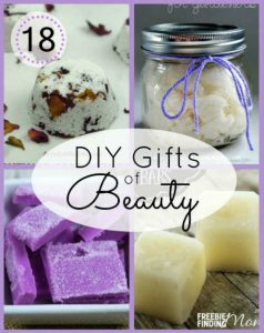 18 Homemade Beauty Gifts by FiberArtsy.com
