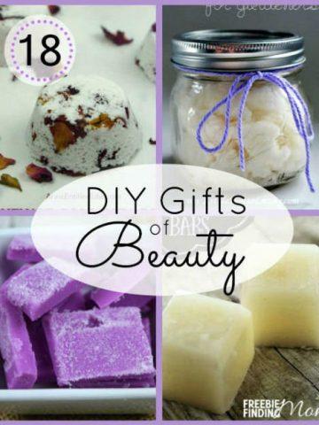 18 Homemade Beauty Gifts by FiberArtsy.com