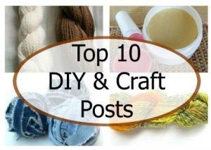 Top 10 Craft and DIY Posts of 2015