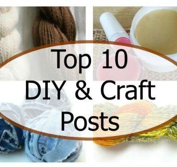 Top 10 Craft DIY Posts Fiberartsy-feature