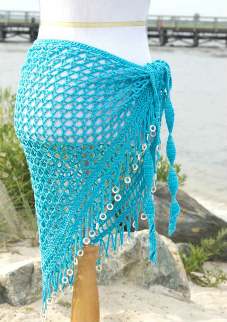Wrap or Shawl Pattern for Crochet