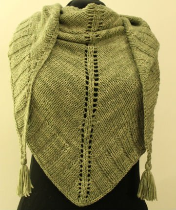 Free Knitting Pattern for Shawls