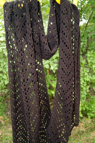 Lacy Shawl Patterns Crochet, FiberArtsy.com