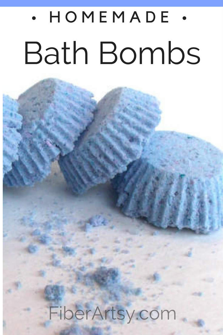 DIY Homemade Bath Bomb Recipe by FiberArtsy.com. Save Money by making your very own bath bombs. Change the fragrance, change the color! Personalize your bath bombs with the essential oil of your choice. Great Gift Idea!