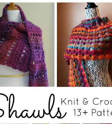 Shawl Patterns for Knit & Crochet, FiberArtsy.com