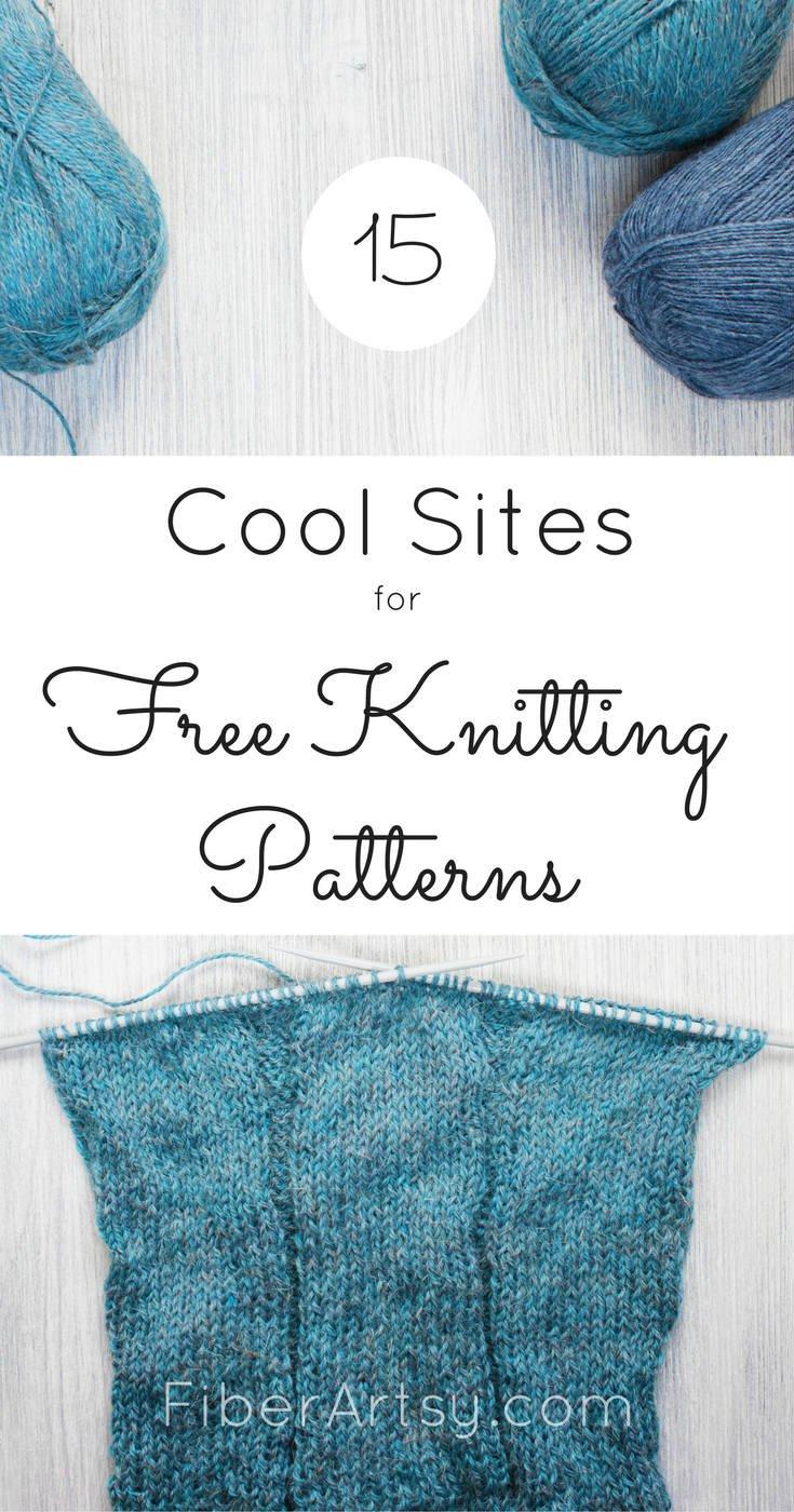 Free Knitting Patterns: 15 Great Websites - FiberArtsy com