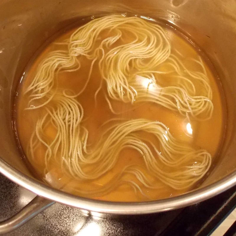 Yarn in a natural plant dye bath
