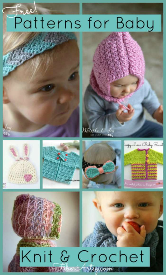 Free Knitting and Crochet Patterns for Babies