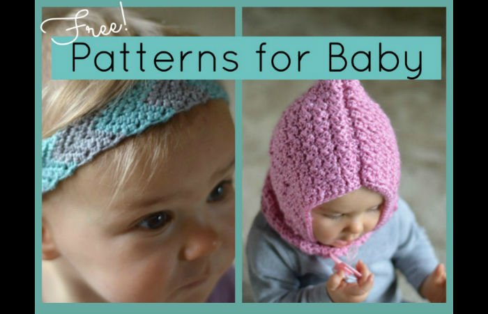 Free Crochet Patterns For Baby Knitting Too Fiberartsy