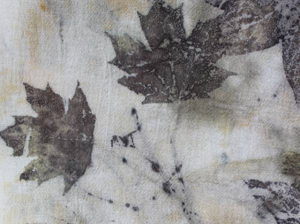 Eco Printing On Fabric For Beginners Fiberartsy Com