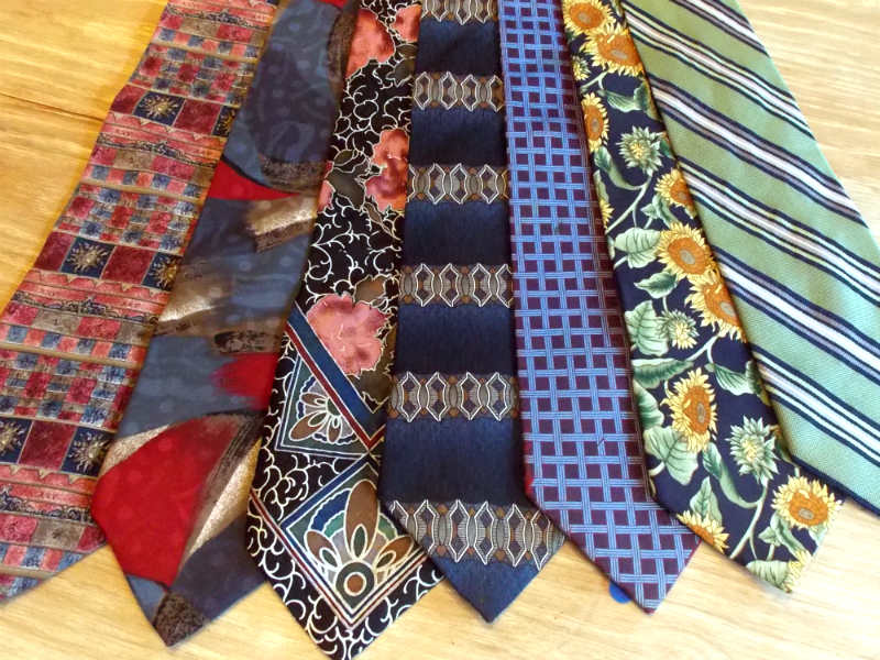 Printing with Silk Ties, a FiberArtsy.com tutorial
