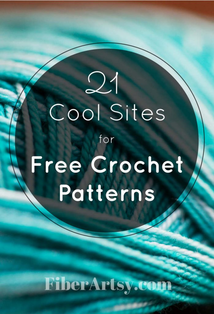 21 Websites where you can find Free Crochet Patterns