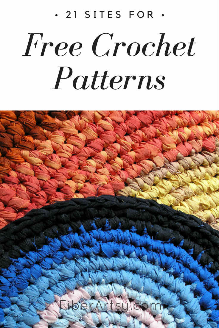 A listing of my favorite websites for free patterns. These sites share everything from crochet sweaters, baby hats and shawls to jewelry.