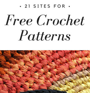 21 Sites for Free Crochet Patterns
